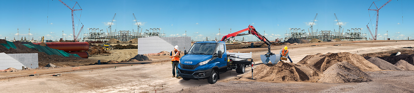 Iveco Daily  mit Kran