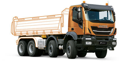 IVECO Stralis X-WAY als Kipper