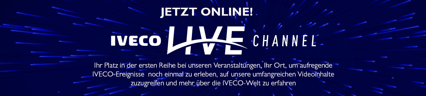 Der IVECO live Channel.